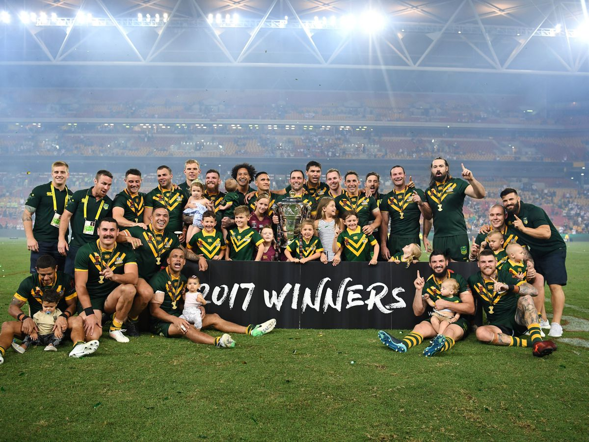 Australia v England – Rugby League World Cup – Final – Suncorp Stadium