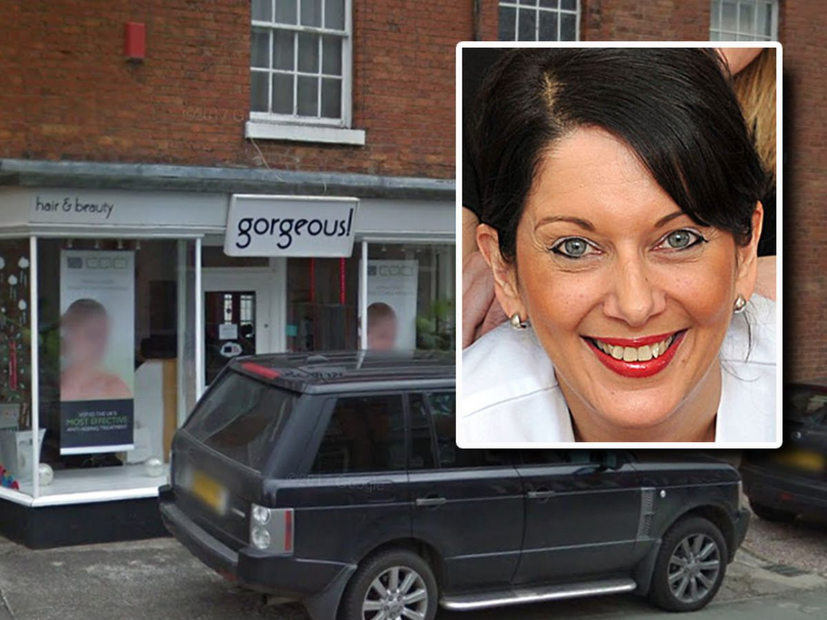 Maxine Knott, inset, owned a Mercedes, Range Rover and a Bentley after laundering money through her hair salon.
