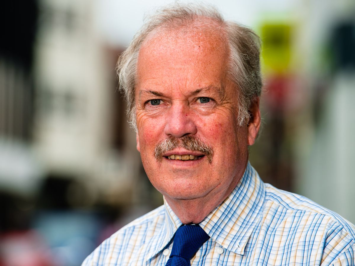 Shropshire Council leader Peter Nutting
