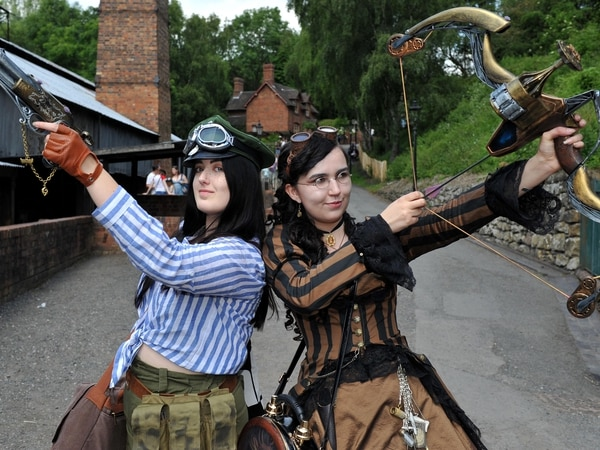 Martians invade steampunk festival at Blists Hill - with pictures