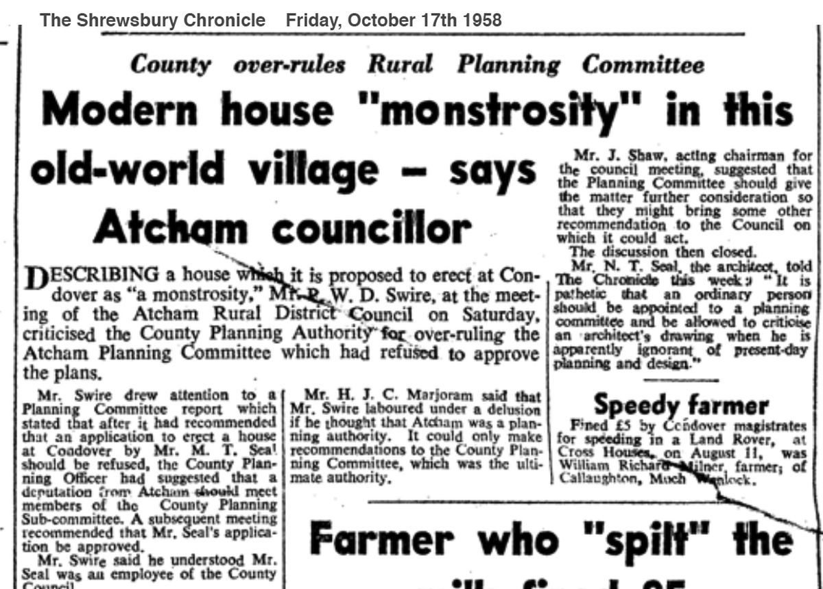 Atcham councillors didn't like the design - but were overruled