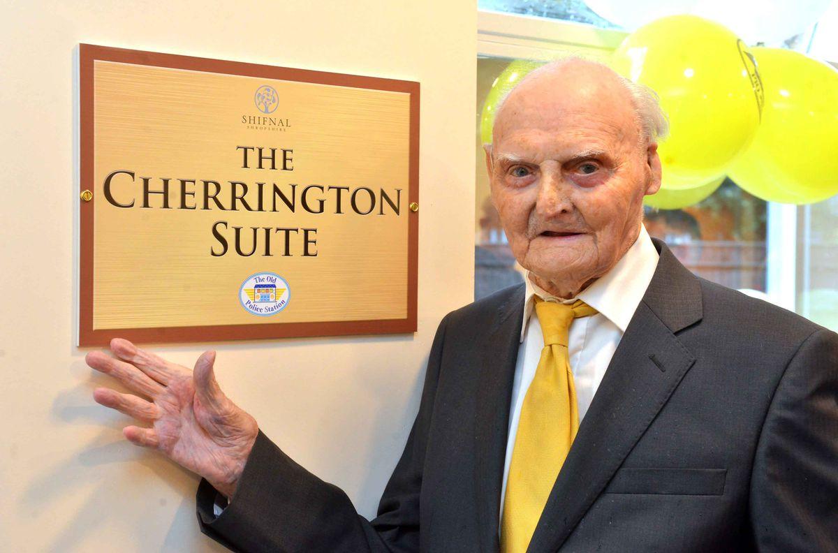 Les at the Cherrington Suite at Shifnal Community Hub