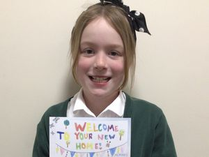 Ava Highfield with her winning entry