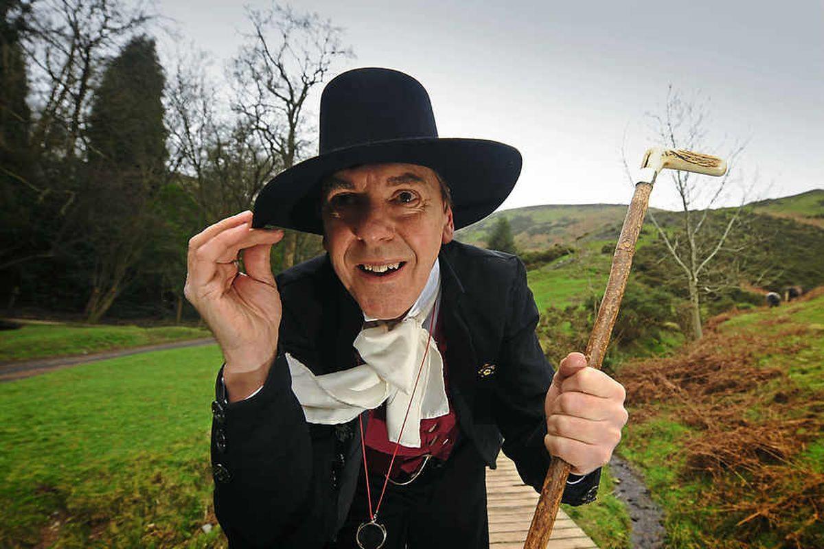 Shropshire legend Reverend Edmund Donald Carr's famous route celebrated