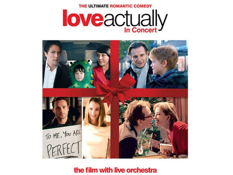 Love Actually screening with live orchestra coming to Birmingham