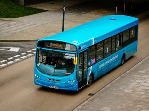 Passengers were asked what they thought about the county's bus services