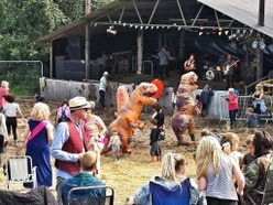 The show goes on at Farmer Phil's Festival