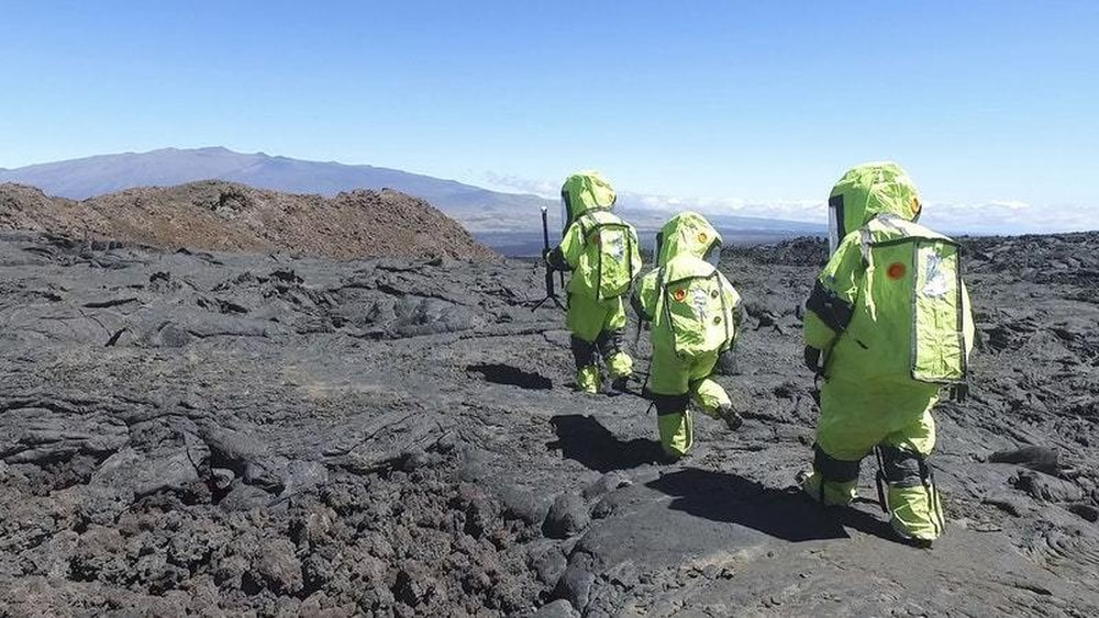 Mars 'crew' emerge after eight-month isolation on Hawaiian volcano