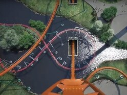 Would you be prepared to go on the world's fastest, tallest dive roller coaster?