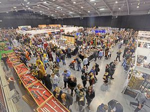 Thousands of visitors flock to the Comic Con event at Telford International Centre