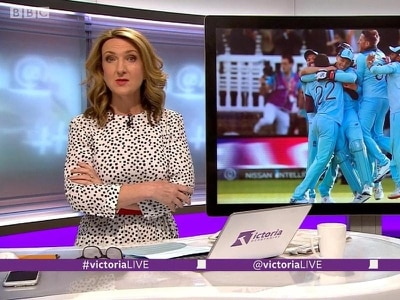 Victoria Derbyshire wears THE Zara dress that's become a viral summer trend