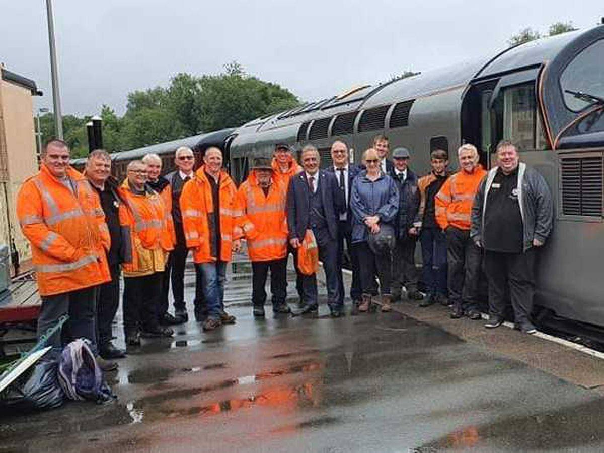 Telford Steam Railway Gronk and Growler celebration event