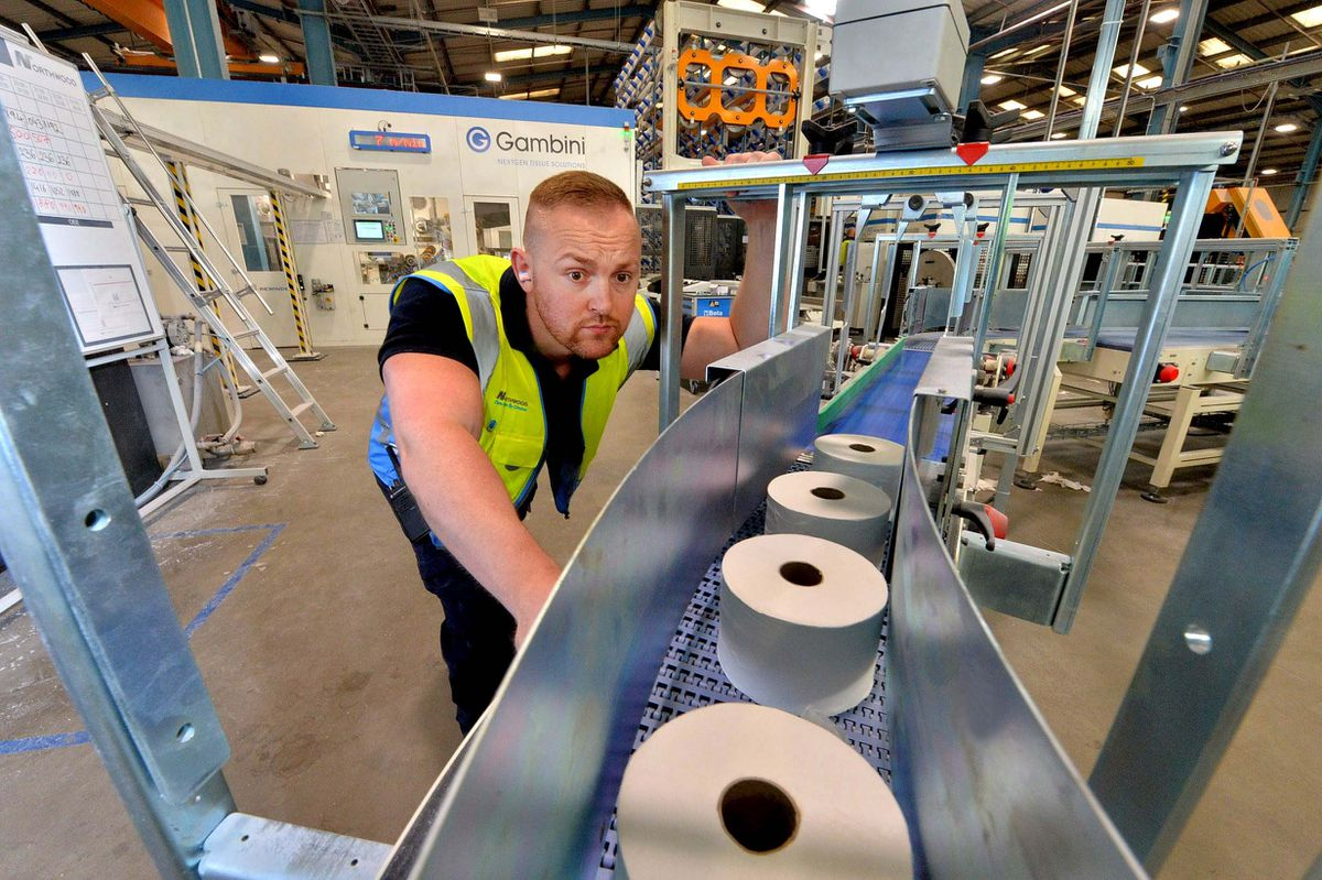 Northwood team leader Craig Price on the new Gambini Wide production line