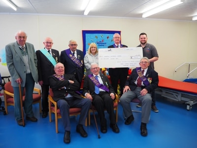 Charity gets £1,000 Buffaloes boost