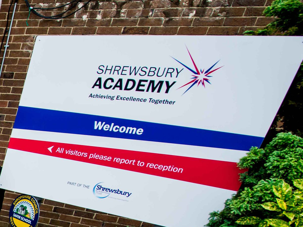Shrewsbury Academy was taken over by an interim board last year and is now set to join the Marches Academy Trust, based in north Shropshire