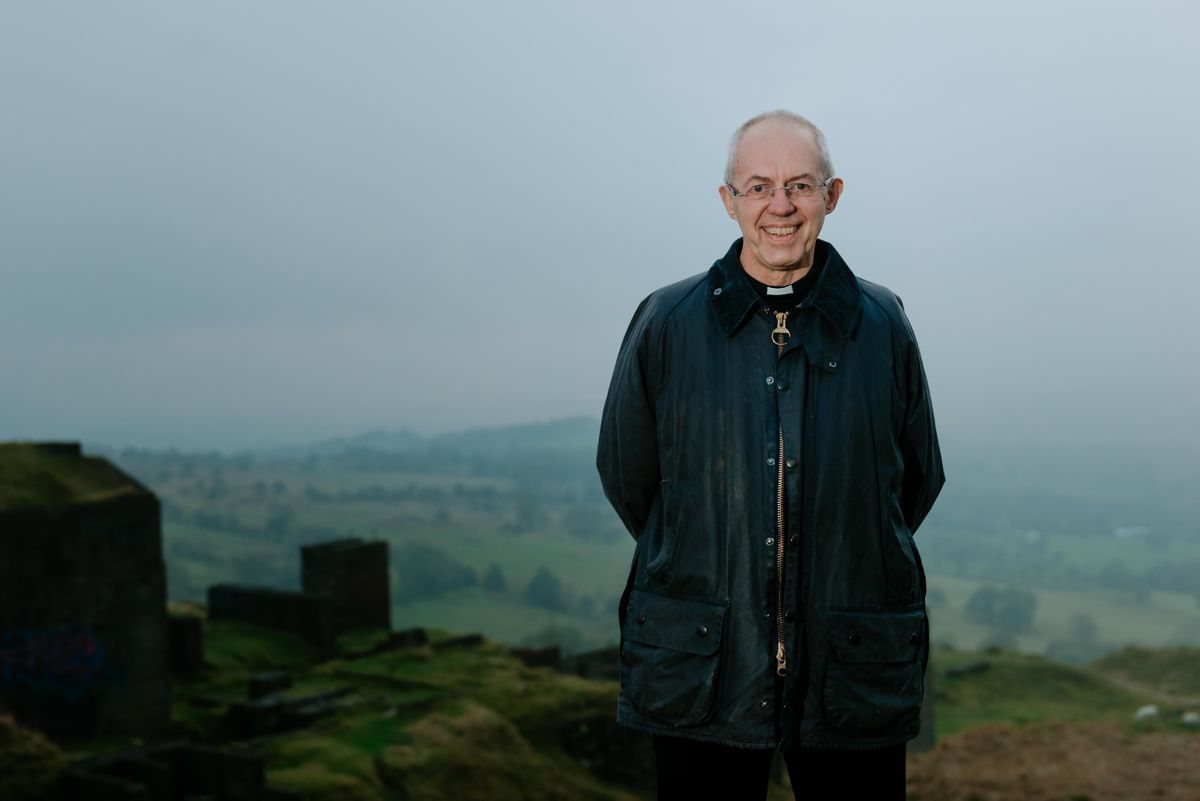 The Archbishop of Canterbury at Clee Hill