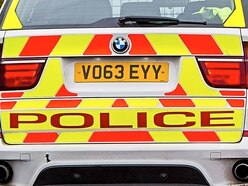 Vehicle crashes into lamp post in Telford high street
