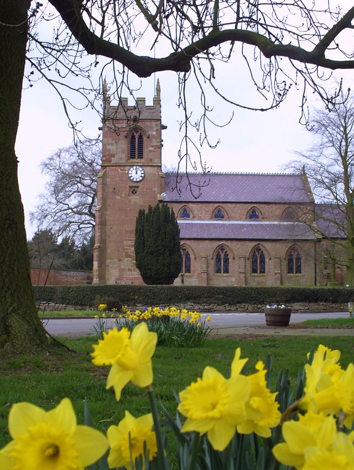 St Chad's at Norton-in-Hales