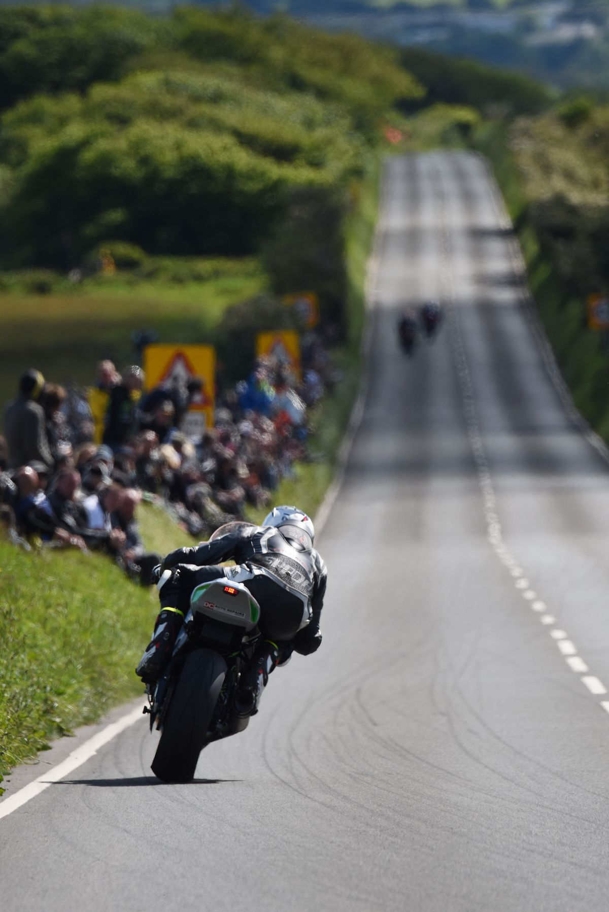 Happier times - Furber last raced at the TT in 2019, and he will have to wait until at least 2022 before returning.  Picture: ottpix@btinternet.com