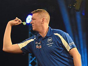 Shropshire's David Pallett shocks the darting world at UK Open