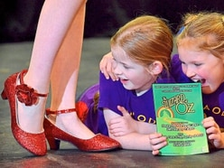 Market Drayton youngsters putting on Wizard show
