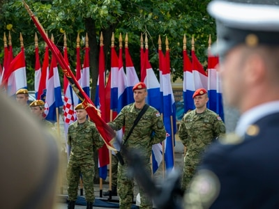 Ethnic Serb among guests at ceremony marking anniversary of Croatian offensive