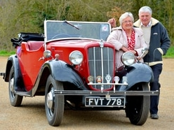 Car enthusiasts step back in time