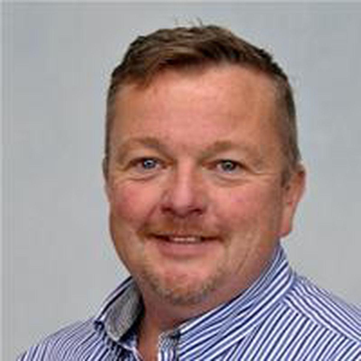 Cleobury Councillor Gwilym Butler