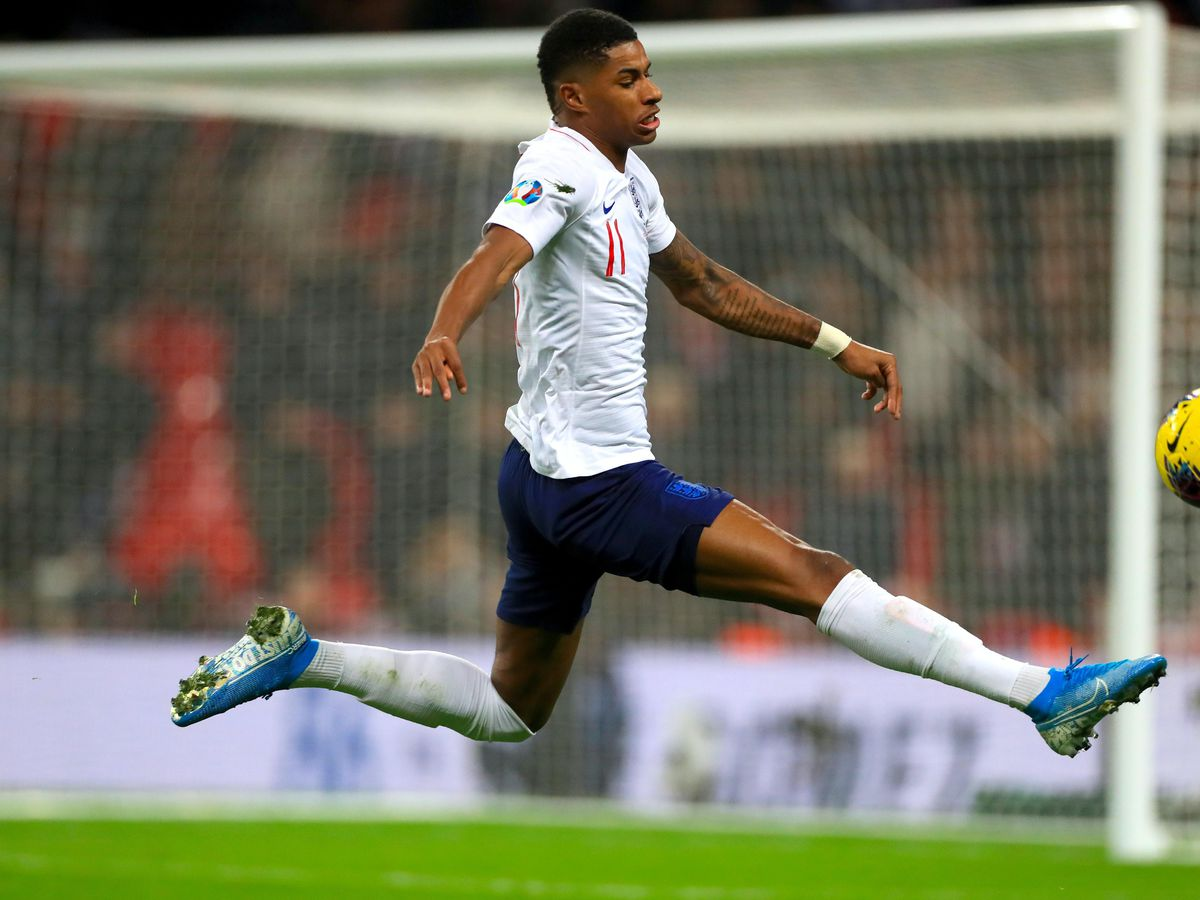 England's Marcus Rashford has taken his charity appeal to Number 10