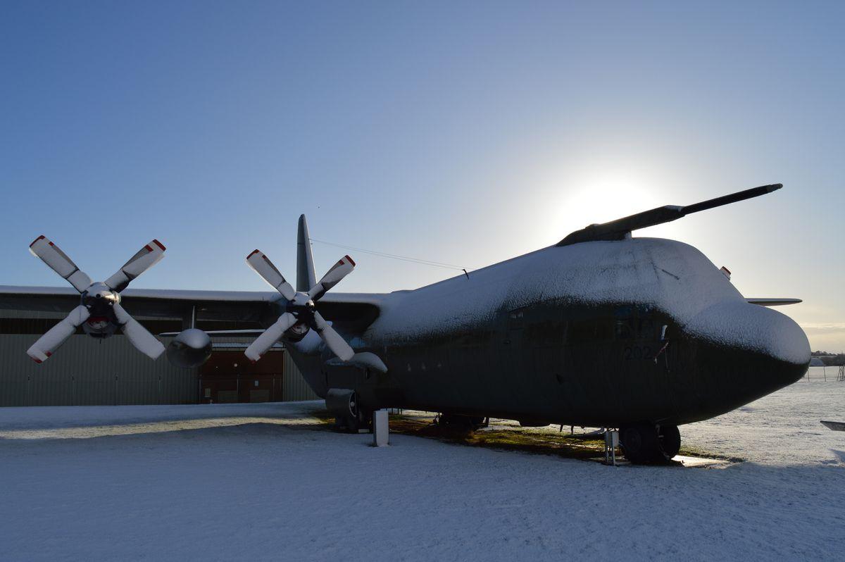 Hercules at RAF Cosford