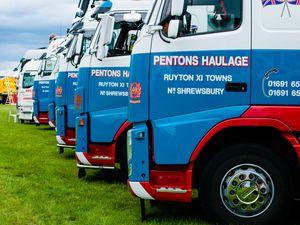 Pentons Haulage trucks