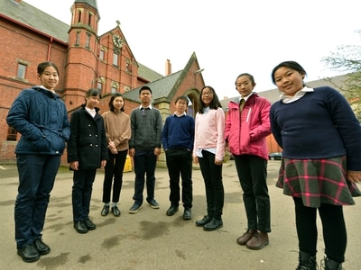Ellesmere College to feature on Chinese TV as Shanghai students get taste of life at county boarding school