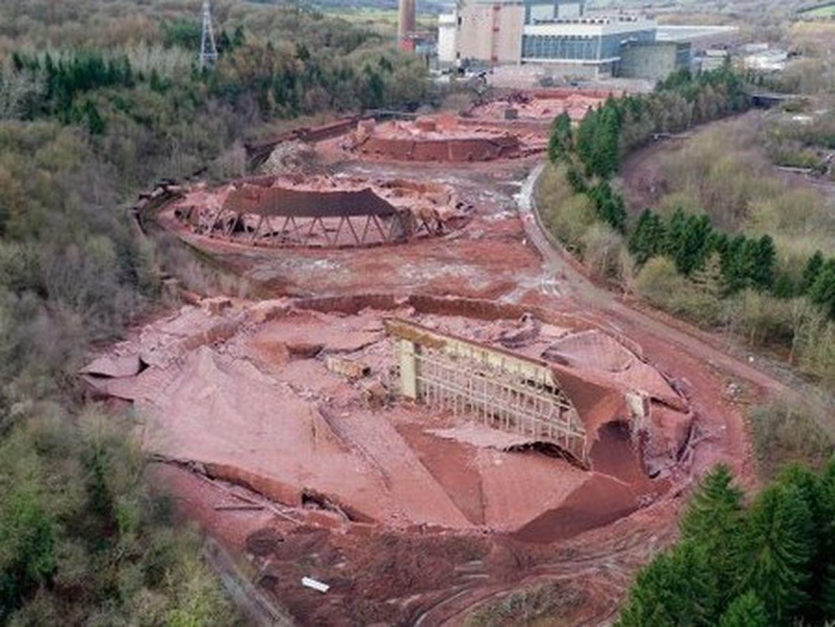 The scene of destruction. Pic: Sam & Ed Bagnall
