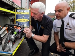 Shropshire firefighters fighting back against thieves