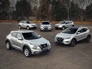 Nissan one million crossovers
