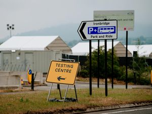 A Covid test centre is operating at the Jigger's Bank car park site