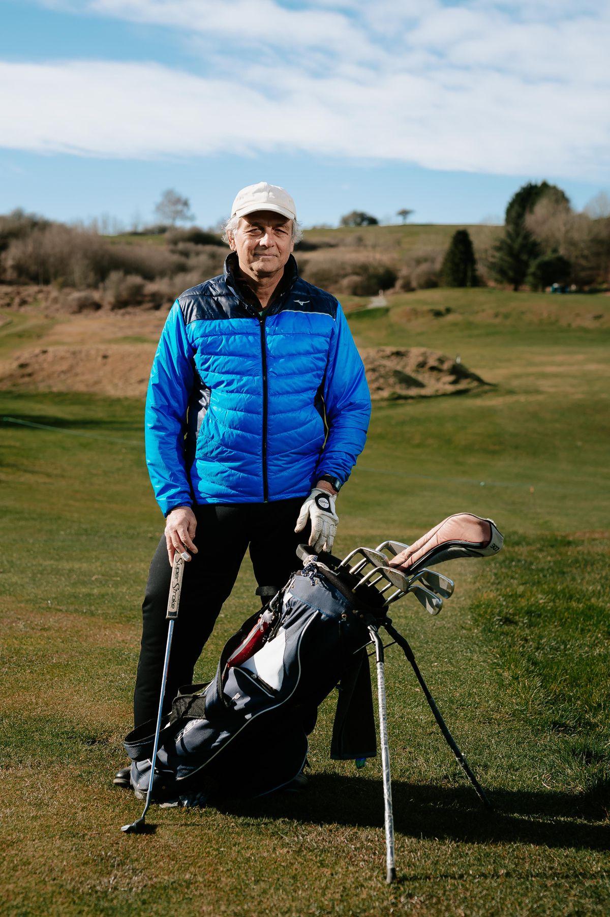 Llanymynech Golf Club member Satyajit Maitra enjoyed a solo game