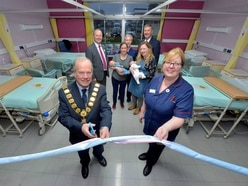 Revamped Shrewsbury maternity is officially opened