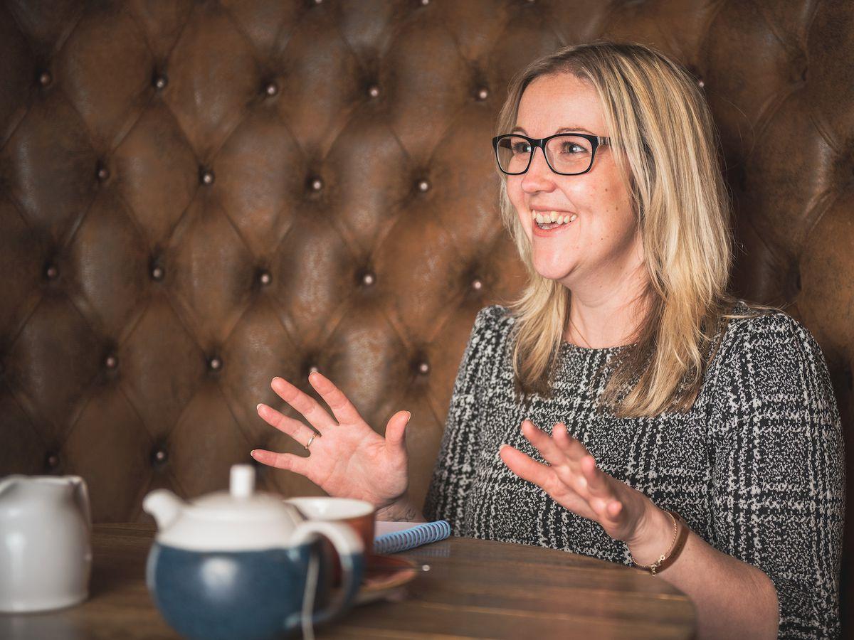 Ruth Martin, of Oswestry-based marketing agency Martin & Jones Marketing