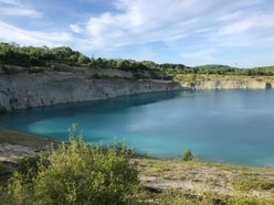 Police warning to trespassers after two people rescued from disused 'blue lagoon' quarry pool