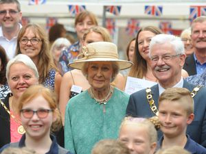 The Princess at Maws Craft Centre with Pride of Telford Award winners