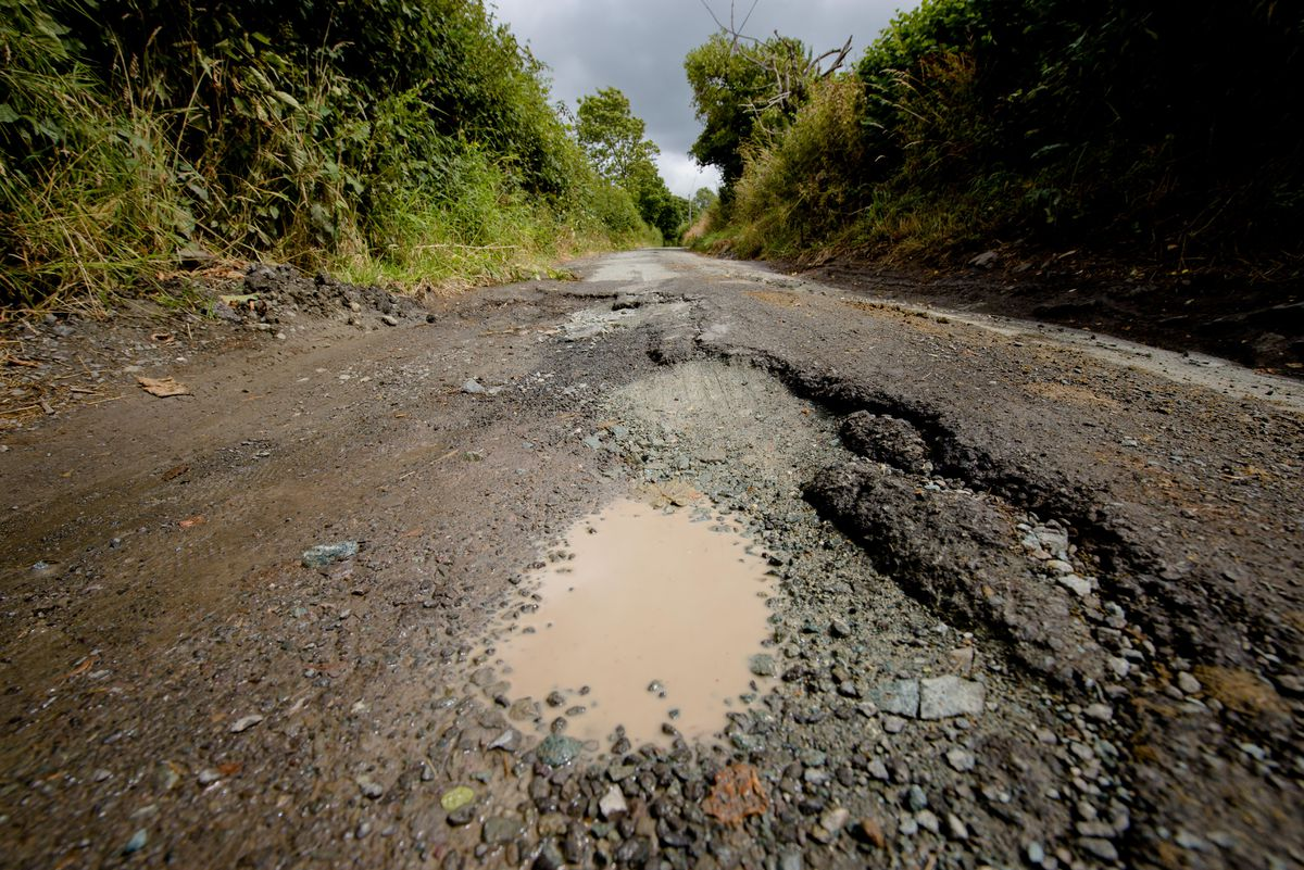 Villagers are waiting for 'meaningful' repairs to the road