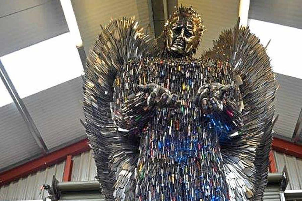 Thousands back petition for Shropshire Knife Angel to go on display in Trafalgar Square