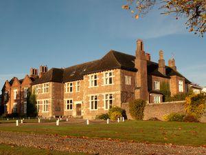 Moreton Hall School's attractive main building.