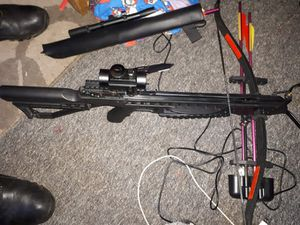 The crossbow - picture: @TelfordCops