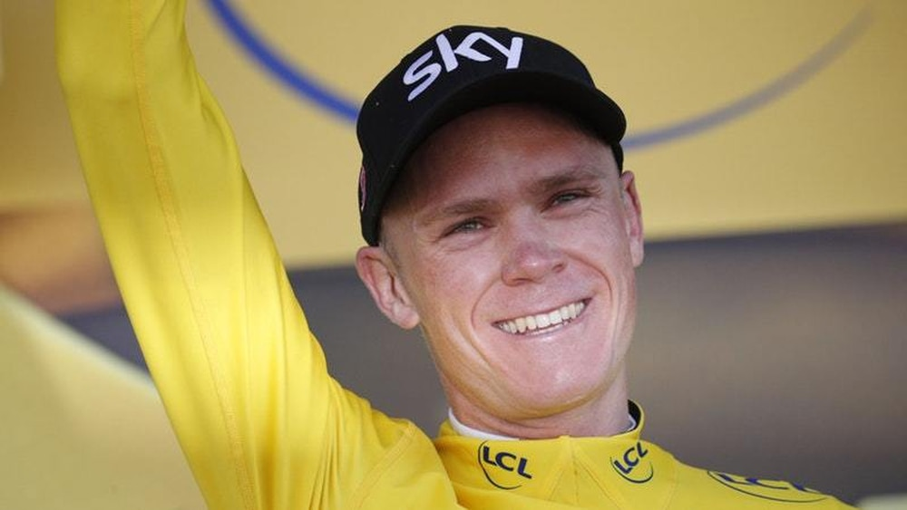 Chris Froome in yellow after Fabio Aru wins Tour de France stage ... 9be93a608
