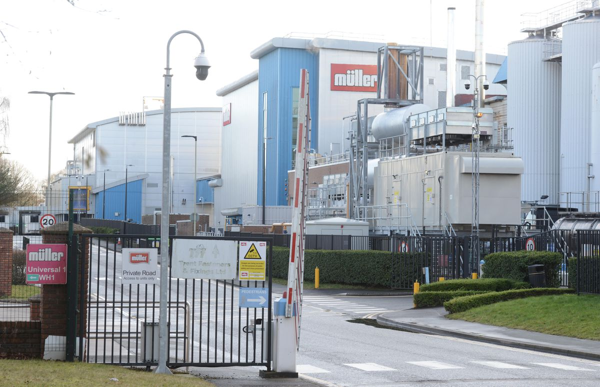 Müller's plant in Market Drayton