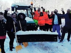 Volunteer snow wardens wanted by Telford council