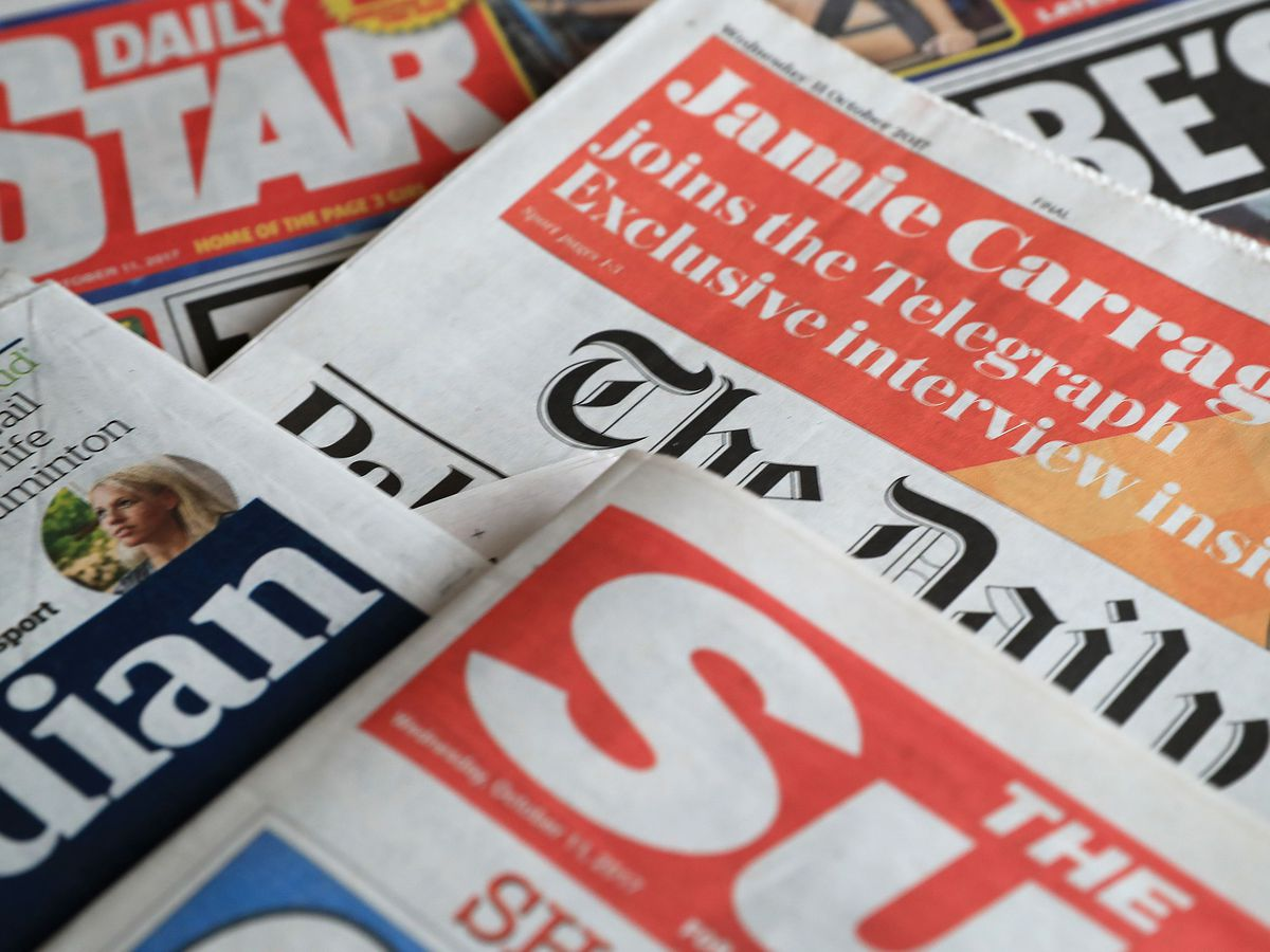 What the papers say - April 16