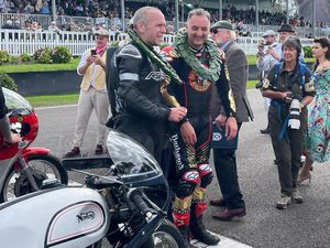 Michael Rutter and Michael Russell came second over all at Goodwood